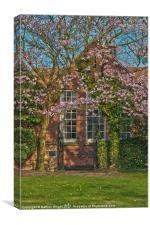Old School house, Canvas Print