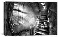 Evening urbex, Canvas Print