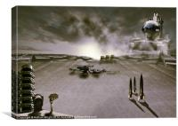 The industrial revolution, Canvas Print