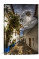 Algarve cobbles, Canvas Print