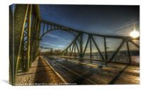 Spy bridge., Canvas Print