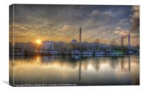 Sunset on the Eisfabrik