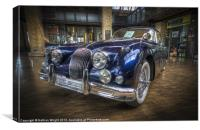 Blue Jag, Canvas Print