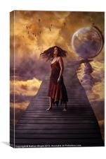 At the worlds end., Canvas Print