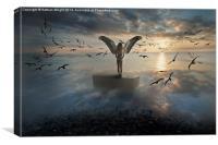 Birds of freedom , Canvas Print