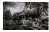 Out of steam, Canvas Print