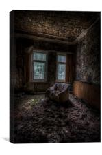 Over looked sofa, Canvas Print