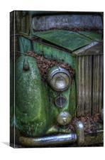 Green Rolls, Canvas Print