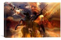 Armageddon, Canvas Print
