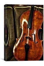 Violin, Canvas Print