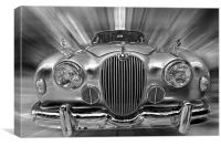 Old Jaguar S, Canvas Print