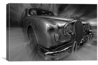 S type Jag., Canvas Print