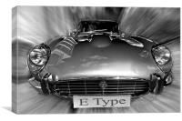 E-type Jag, Canvas Print