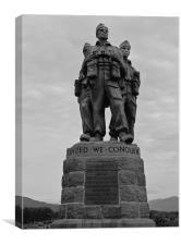 The commando monument nr Spean Bridge, Fort Willia
