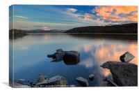 Trawsfynydd lake, Canvas Print