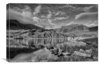 View towards Cwm Idwal, Canvas Print