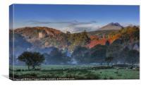Dolwyddelan, Canvas Print