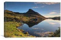 Early morning at Cregennan lake, Canvas Print