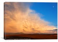 Storm over the Arenig range, Canvas Print
