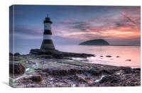 Penmon point, Canvas Print