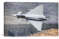 Typhoon turning for Cader Idris, Canvas Print