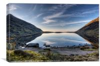 Llyn Manod - April 2012, Canvas Print