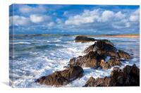 Anglesey shore, Canvas Print