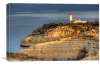 Portugese lighthouse, Canvas Print