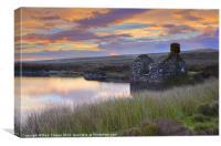 Llyn Conwy, Canvas Print