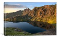 Llyn Glaslyn, Canvas Print