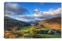 Capel Curig, Canvas Print