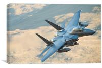 F15 low level, Canvas Print