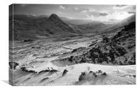 Ogwen valley, Canvas Print