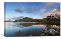 Cregennan with Cader Idris, Canvas Print