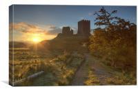 Dolwyddelan sunrise, Canvas Print