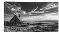 Llandecwyn church, Canvas Print