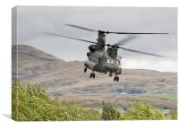 Boeing CH-47 Chinook , Canvas Print