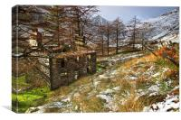 Plas Cwmorthin, Canvas Print