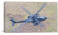 Boeing AH-64 Apache, Canvas Print