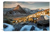 Dawn at Tryfan, Canvas Print