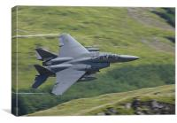 F-15 eagle, Canvas Print