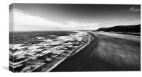 Rhossili bay, Canvas Print