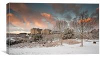 Trawsfynydd Power station, Canvas Print