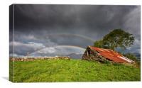 Heddwyns barn, Canvas Print