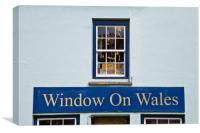 Window on Wales, Canvas Print