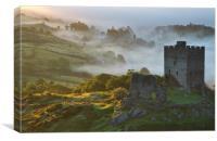 Inversion at Dolwyddelan, Canvas Print