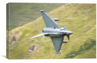 RAF Typhoon, Canvas Print