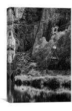 Vivian Quarry, Canvas Print