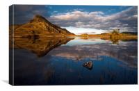 Cregennan reflections, Canvas Print