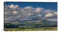 The Moelwyn range and Cnicht, Canvas Print